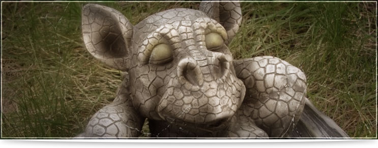 Drachenhort | Gartenfiguren