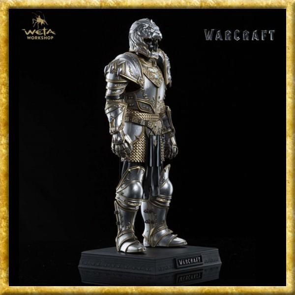 Warcraft - Statue Rüstung von König Llane