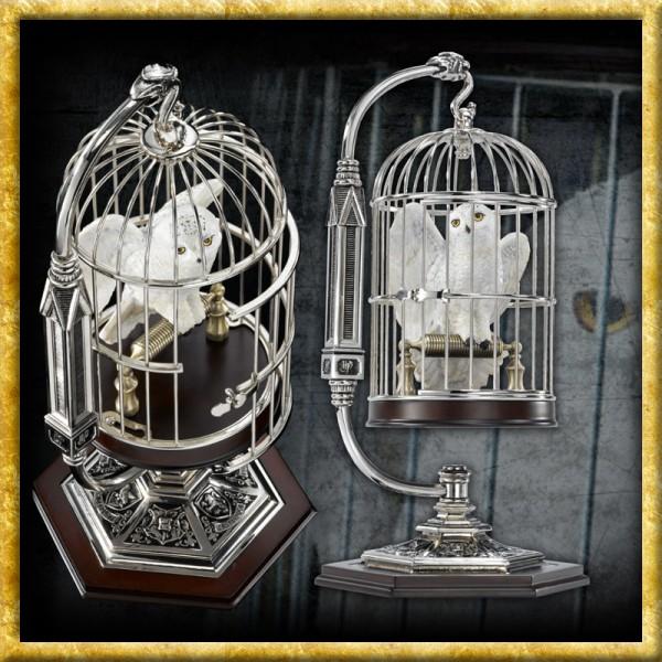Hedwig im Käfig
