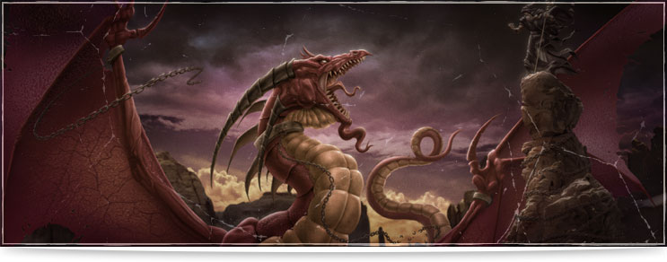 Drachenhort | Farbige Drachenfiguren