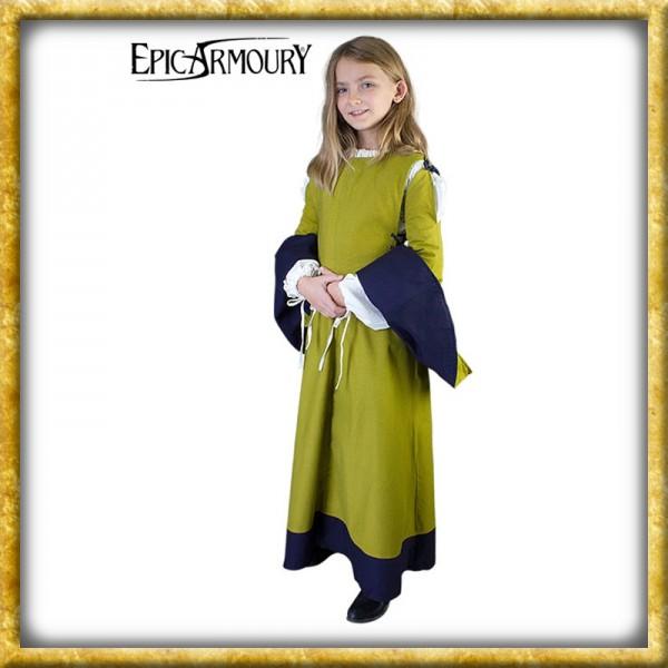 Mittelalterliches Kinderkleid - Grün