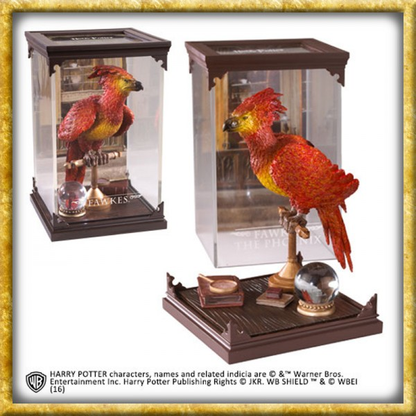 Harry Potter Magical Creatures - Statue Fawkes