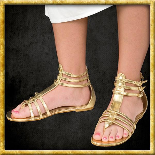 Sandalen - Goldfarben