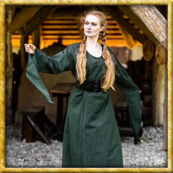 Mittelalter Kleid Marian - Grün