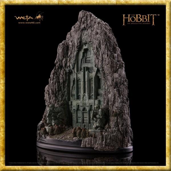 Der Hobbit - Statue Tor zum Erebor