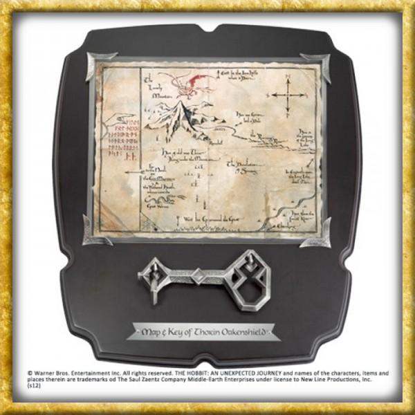 Der Hobbit - Thorin´s Schlüssel & Karte Erebor