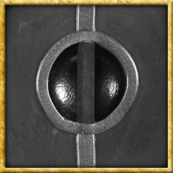LARP Schild mit Eisenbeschlägen