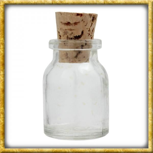 Kleine Trankflasche aus Glas