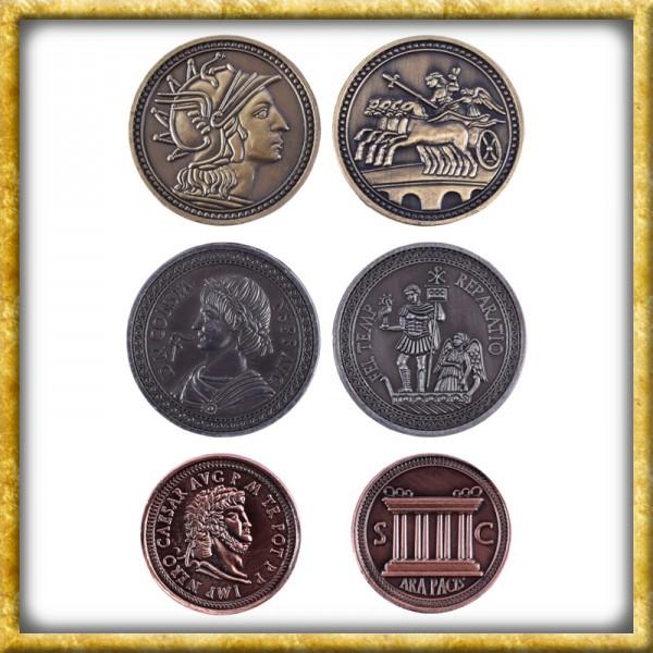 LARP Münzen Römer