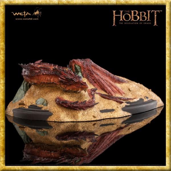 Der Hobbit - Statue Smaug König unter dem Berg