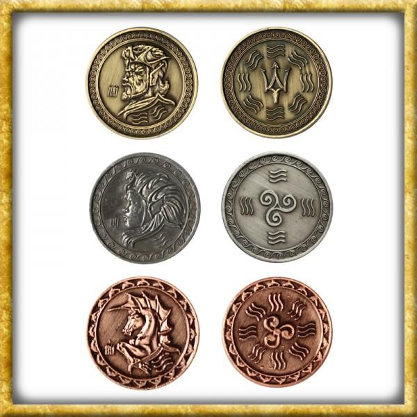 LARP Münzen Wasser