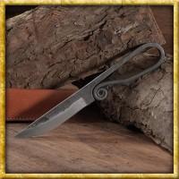 Geschmiedetes Hochmittelalter Messer