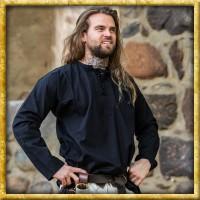 Weiches Bauernhemd - Schwarz oder Natur