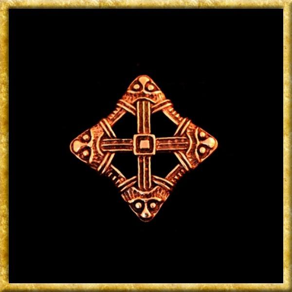 Fibel Viking Cross - Bronze