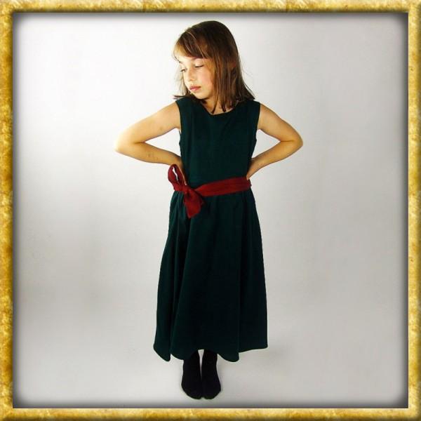 Ärmelloses Kleid für Mädchen - Grün