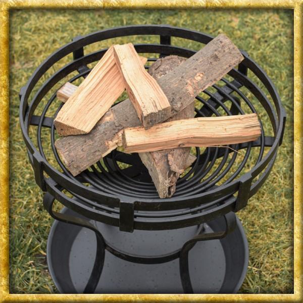 Feuerkorb mit Bodenplatte