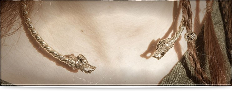 Mittelalter Halsreifen & Halsbänder | Drachenhort