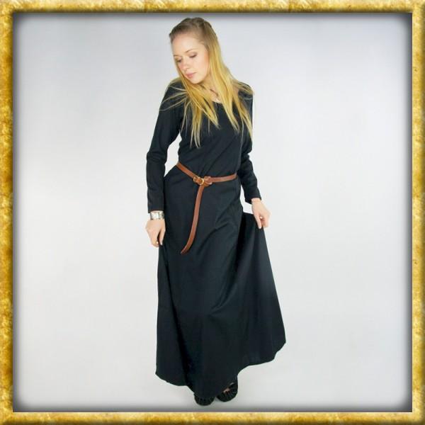 Schlichtes Wikinger Unterkleid - Schwarz