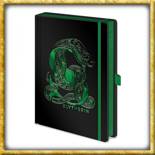 Harry Potter - Premium Notizbuch Slytherin