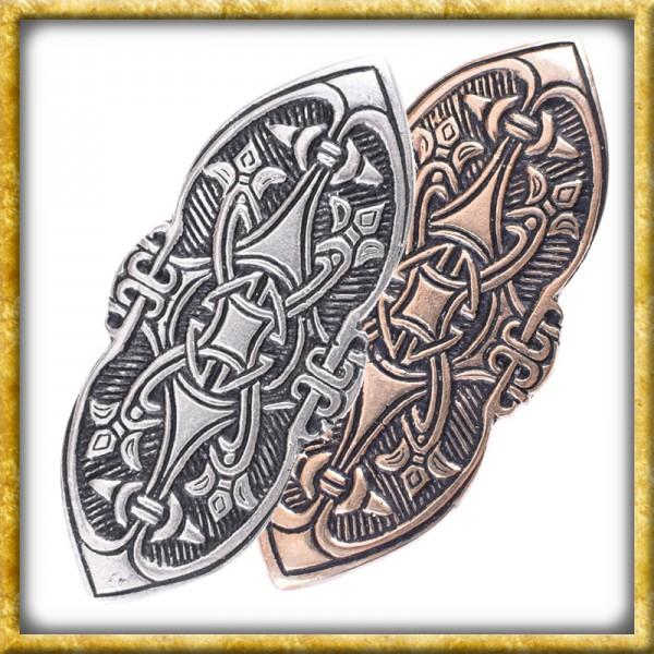 Wikinger Fibel Birka - Bronze oder Silber