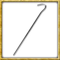 Erdnagel Hering aus Stahl - ca. 23cm