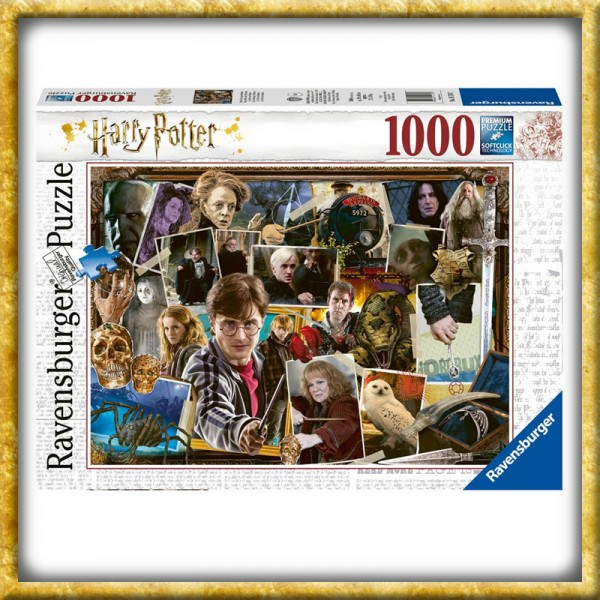 Harry Potter - Puzzle Harry gegen Voldemort