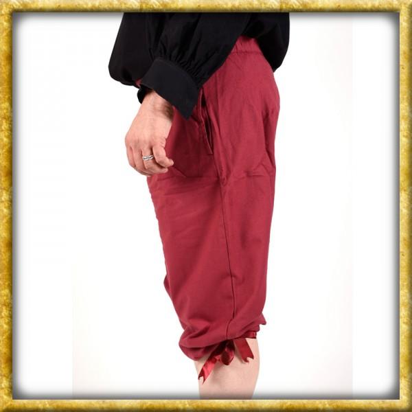 Kniebundhose zum Schnüren - Rot