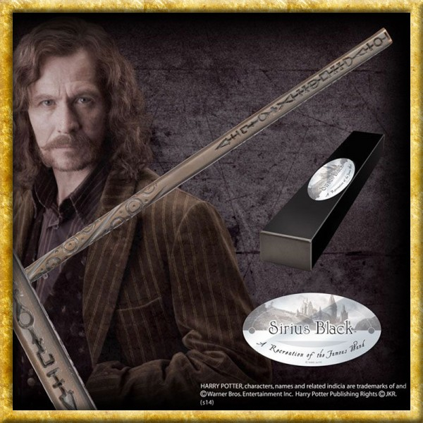 Harry Potter - Zauberstab Sirius Black Charakteredition