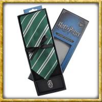 Harry Potter - Krawatte & Ansteckpin Slytherin
