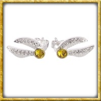 Harry Potter - Swarovski Ohrringe Goldener Schnatz