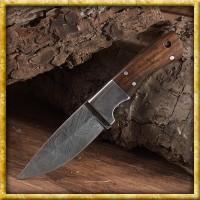 Damast Messer mit Griff aus Shishamholz