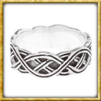 Nordmannen Ring aus Silber