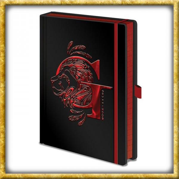 Harry Potter - Premium Notizbuch Gryffindor