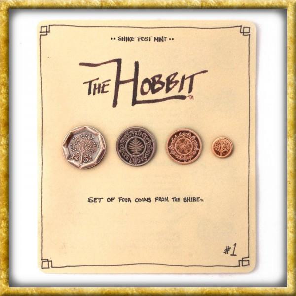 Der Hobbit - Münzen Set