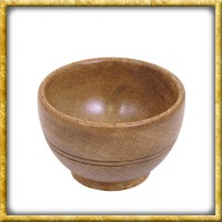 Mittelalter Holzschale - 10cm