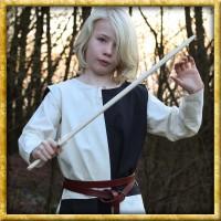 Waffenrock Lucas für Kinder - Natur/Schwarz