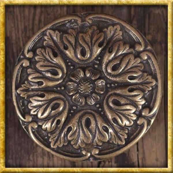 Gürtelschnalle Akanthus - Silber oder Bronze