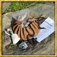 Mittelalter Feuerzeug im Lederbeutel