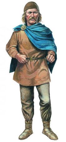 Wikinger Mann