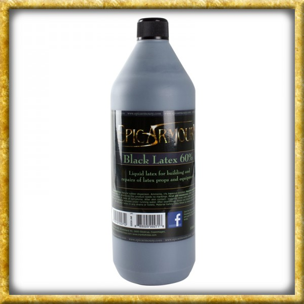 LARP schwarzer Latex - 1000ml