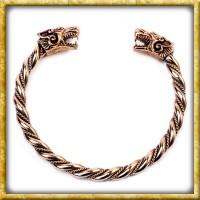 Wikinger Armreif Fenris aus Bronze
