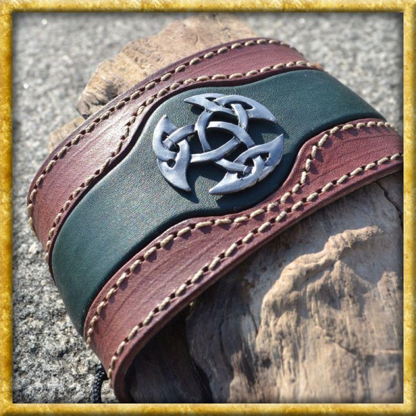 Lederarmband - Celtica