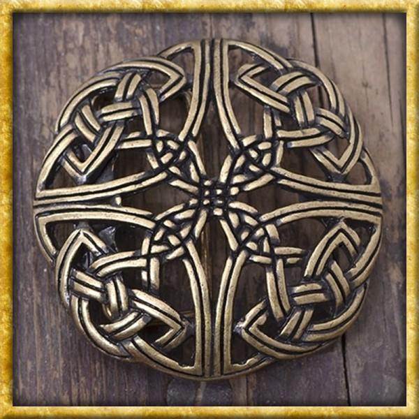 Gürtelschnalle Keltisches Muster - Silber oder Bronze
