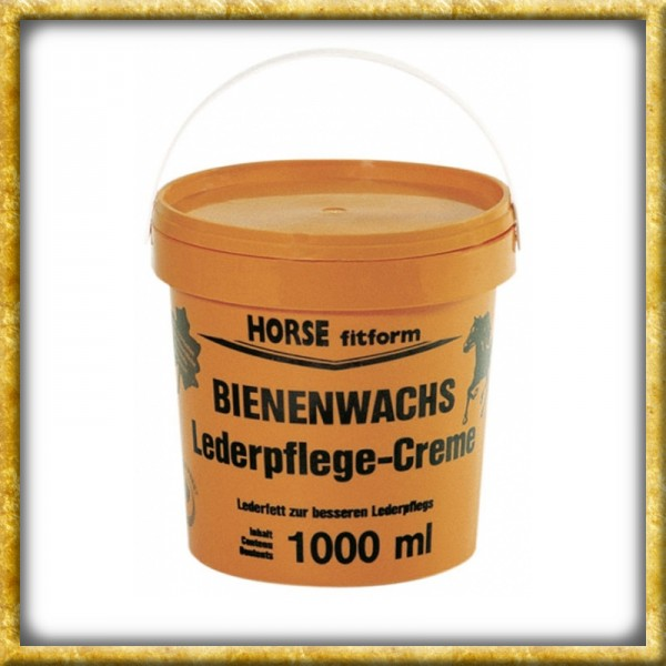 Bienenwachs Lederpflegecreme - 1000ml