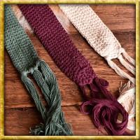 Baumwollgürtel mit Spitzen - Verschiedene Farben