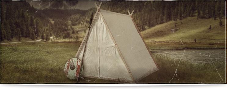 Historische Zelte, Planen, Sonnensegel, Wikingerzelte & mehr| Drachenhort