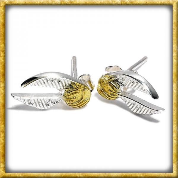 Harry Potter - Ohrringe Goldener Schnatz