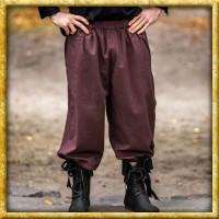 Kniebundhose zum Schnüren - Dunkelbraun