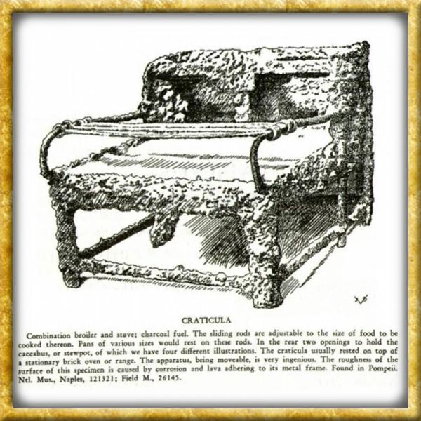 Römisches Kochgestell Craticula