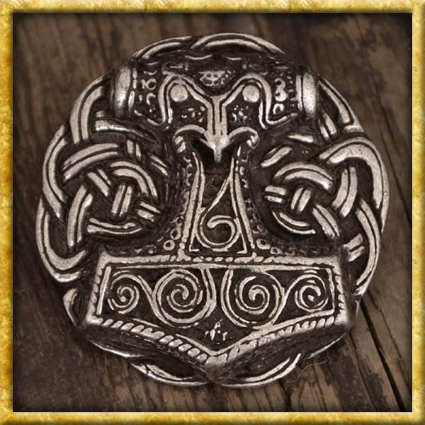 Gürtelschnalle Thorshammer Schonen - Silber oder Bronze